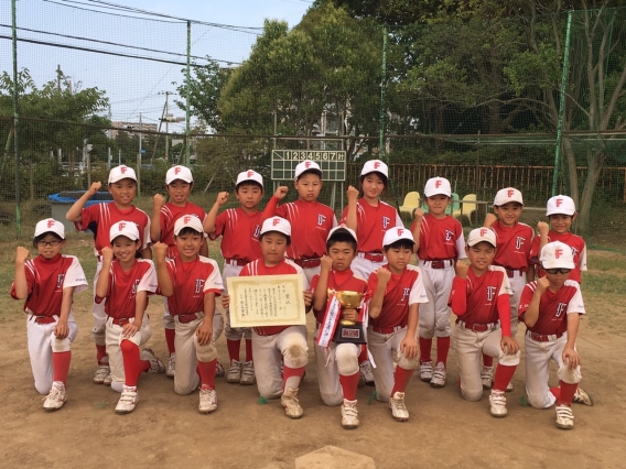 B(5年生)チーム 美浜区 夏季大会 優勝!